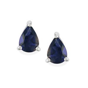 1.11ct Bengal Iolite Sterling Silver Earrings