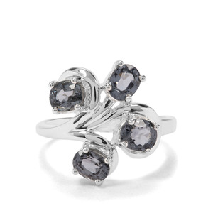 2.71ct Mogok Silver Spinel Sterling Silver Ring