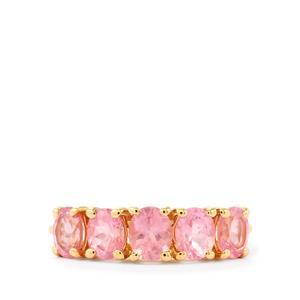1.78ct Mozambique Pink Spinel 9K Gold Ring