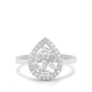 0.86ct Ratanakiri Zircon Sterling Silver Ring