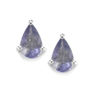 0.64ct Bengal Iolite Sterling Silver Earrings