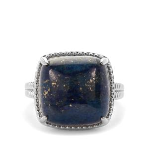 Lapis Lazuli Ring in Sterling Silver 12.21cts