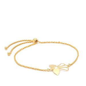 """10"""" Midas Remembrance Angel Slider Bracelet 2.32g"""