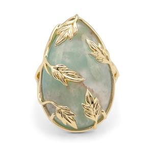 Aquaprase™ Ring in 9K Gold 13.88cts