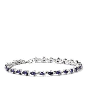 Bengal Iolite Bracelet in Sterling Silver 4.45cts