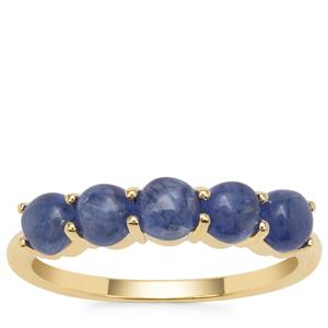 Burmese Blue Sapphire Ring in 9K Gold 2.25cts