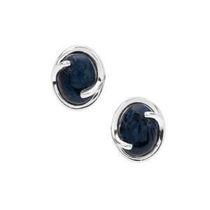 Russian Rhodusite Earrings in Sterling Silver 4.30cts