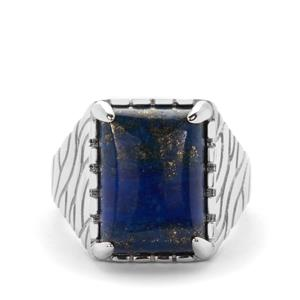 Lapis Lazuli Ring in Sterling Silver 7.70cts
