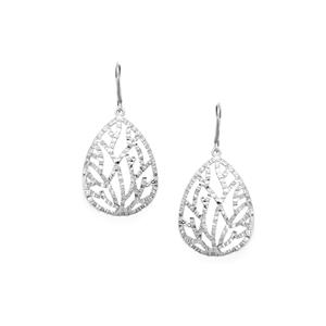 Sterling Silver Vine Filigree Earrings