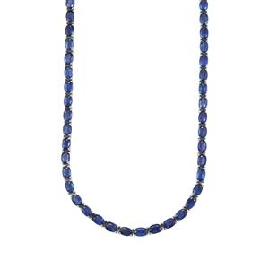 Daha Kyanite Necklace in Sterling Silver 42.31cts
