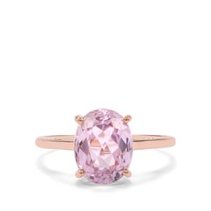 Mawi Kunzite Ring in 9K Rose Gold 3.49cts