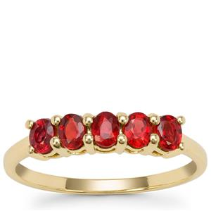 Winza Ruby Ring  in 9K Gold 1.10cts