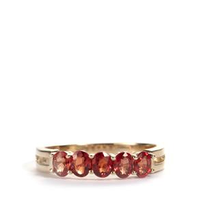 Winza Ruby Ring in 10K Gold 1.21cts