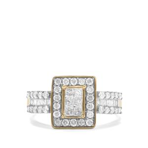 1ct Diamond 10K Gold Tomas Rae Ring