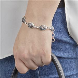 Sonora Dendrite Bracelet in Sterling Silver 32.25cts