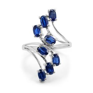 2.56ct Daha Kyanite Sterling Silver Ring