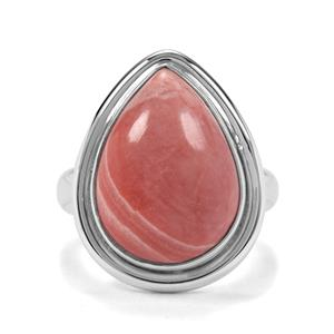 6.39ct Pink Lady Opal Sterling Silver Aryonna Ring