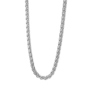 "24"" Sterling Silver Tempo Foxtail Chain 5.39g"