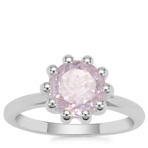 Brazilian Kunzite Ring in Sterling Silver 3.08cts