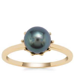 Tahitian Cultured Pearl Ring in 9K Gold (7mm)