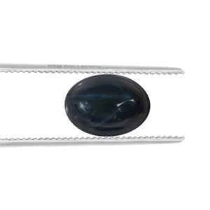 Blue Star Sapphire Loose stone  2.10cts