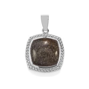 10.97ct Midnight Astraeolite Sterling Silver Pendant