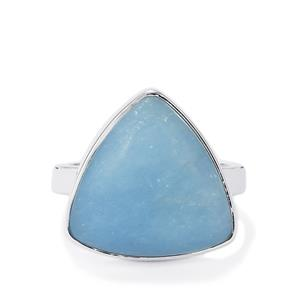 11.73ct Angelite Sterling Silver Aryonna Ring