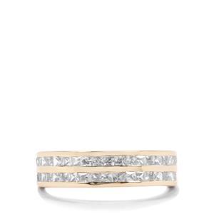 1.41ct Ratanakiri Zircon 9K Gold Ring