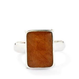 7.24ct Rutile Quartz Sterling Silver Aryonna Ring