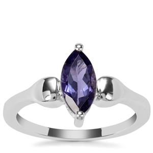 Bengal Iolite Ring in Sterling Silver 0.84ct
