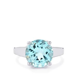 Sky Blue Topaz Ring in Sterling Silver 5.74cts