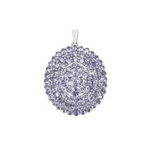 Tanzanite Pendant in Sterling Silver 14.03cts