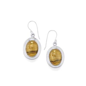 Schelm Blend Sphalerite Earrings in Sterling Silver 24cts