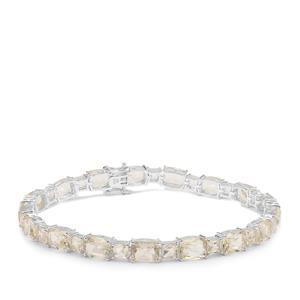 24.32ct Serenite Sterling Silver Bracelet