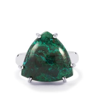 Chrysocolla Ring in Sterling Silver 12cts
