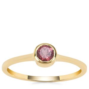 Mahenge Spinel Ring in 9K Gold 0.42ct