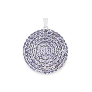 Tanzanite Pendant in Sterling Silver 14.49cts