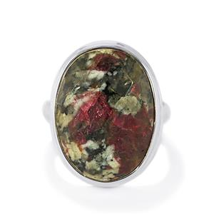15ct Eudialyte Sterling Silver Aryonna Ring