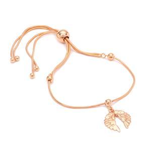 "10"" Rose Midas Altro Ankle Slider Bracelet 6.09g"