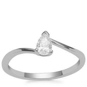 Diamond Ring in Platinum 950 0.32ct