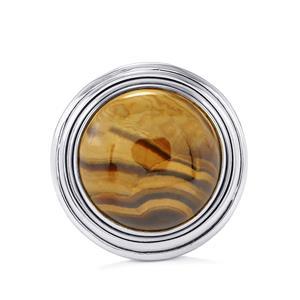 12ct Schelm Blend Sphalerite Sterling Silver Aryonna Ring