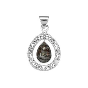 Astrophyllite Pendant in Sterling Silver 4.50cts