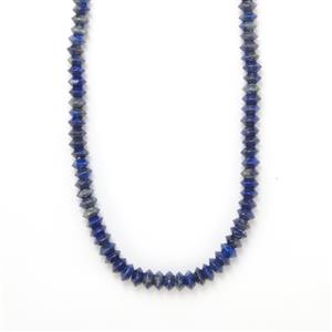 Lapis Lazuli Necklace  in Sterling Silver 219cts