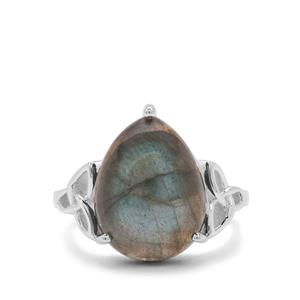 Labradorite Ring in Sterling Silver 9.45cts