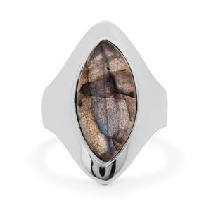 Paul Island Labradorite Ring in Sterling Silver 7.70cts