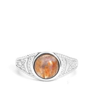 1.93ct Labradorite Sterling Silver Ring