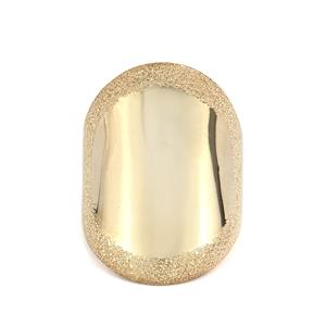 Viorelli Stardust Gold Plated Sterling Siver Ring