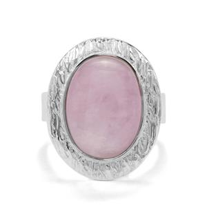 11ct Nuristan Kunzite Sterling Silver Aryonna Ring