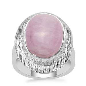 Nuristan Kunzite Ring in Sterling Silver 11cts
