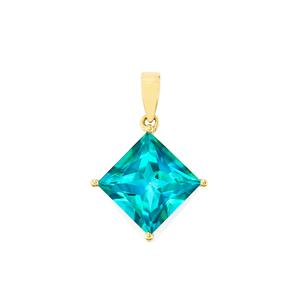 Batalha Topaz Pendant in 10k Gold 9.51cts